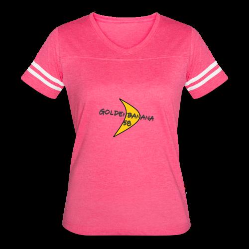 GoldenBanana58 banana - Women's Vintage Sport T-Shirt