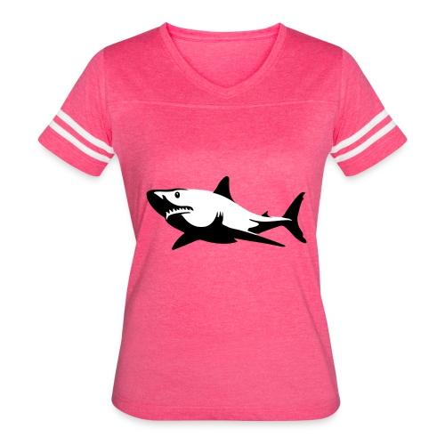 Shark - Women's Vintage Sport T-Shirt