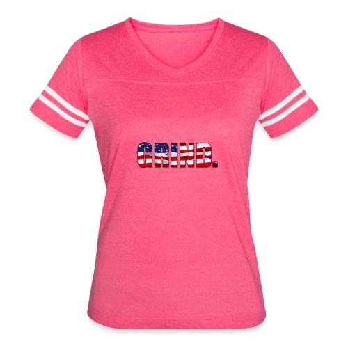GRIND FLag - Women's Vintage Sport T-Shirt