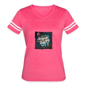 High On Chemicals With You - Women's Vintage Sport T-Shirt