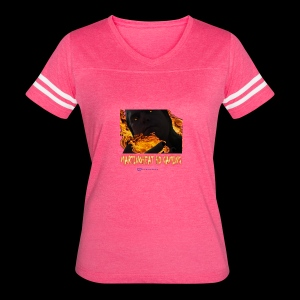 Martinoheat HD Gaming button - Women's Vintage Sport T-Shirt