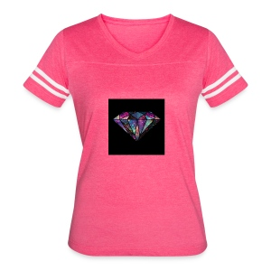 Diamondfashion - Women's Vintage Sport T-Shirt