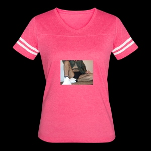 self modeled - Women's Vintage Sport T-Shirt