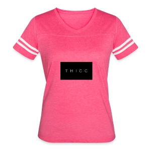 T H I C C T-shirts,hoodies,mugs etc. - Women's Vintage Sport T-Shirt