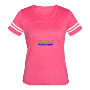 Cool Intros With Subscribe - Women's Vintage Sport T-Shirt