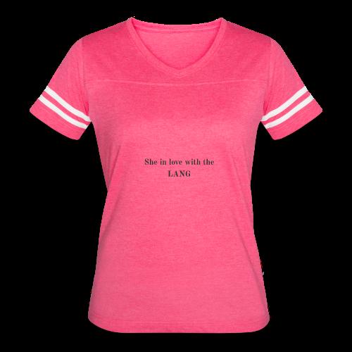 LANG - Women's Vintage Sport T-Shirt