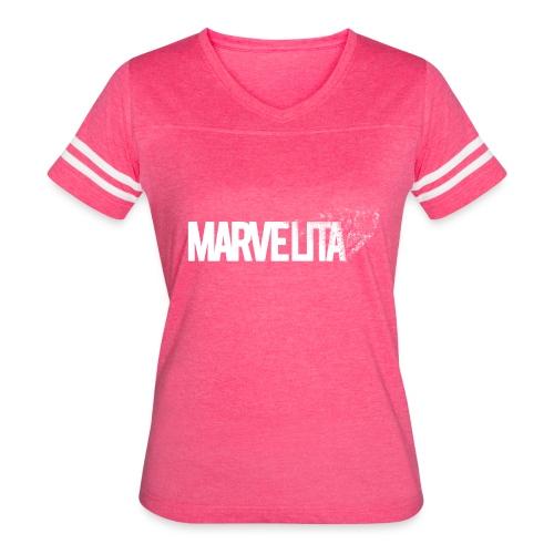 MARVELITA - Women's Vintage Sport T-Shirt