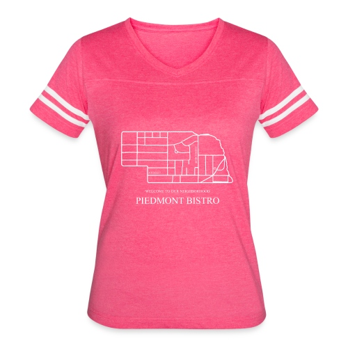 Welcome to Our Neighborhood by Emily - Women's Vintage Sport T-Shirt