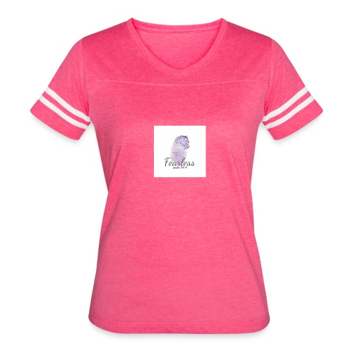 Fearless Tee & Accessories - Women's Vintage Sport T-Shirt