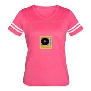 Music Truth Retro Record Label - Women's Vintage Sport T-Shirt