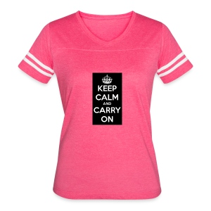 KEEP CALM AND SUB TO DIAMOND - Women's Vintage Sport T-Shirt