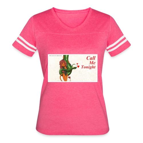 Call Me Tonight Title Card - Women's Vintage Sport T-Shirt