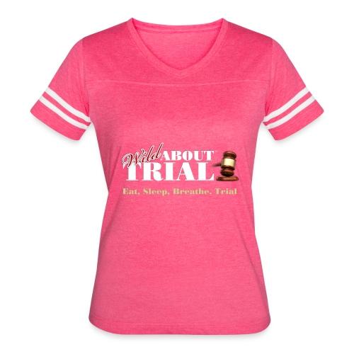 WAT - Eat, Sleep, Breathe, Trial - SALMON EDITION - Women's Vintage Sport T-Shirt