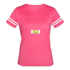 Tap the frog - Women's Vintage Sport T-Shirt