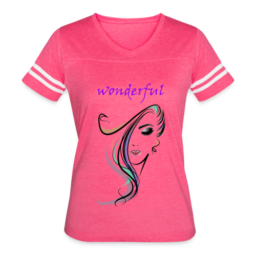 WONDERFUL - Women's Vintage Sport T-Shirt