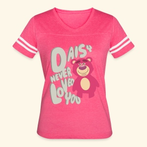 Daisy never loved you - Women's Vintage Sport T-Shirt