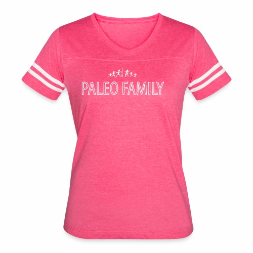 Paleo Family - 4 Kids - Women's Vintage Sport T-Shirt