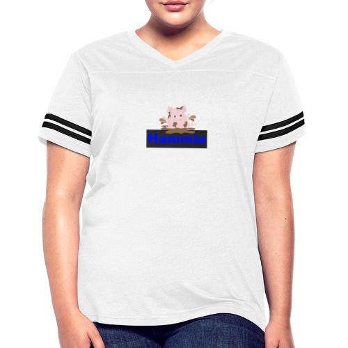 Hammie Join the Mudpile - Women's Vintage Sport T-Shirt