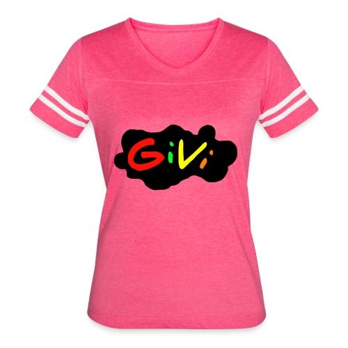 GiVi - Women's Vintage Sports T-Shirt