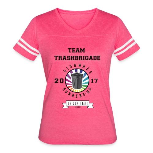TrashBrigade 2017 - Women's Vintage Sport T-Shirt