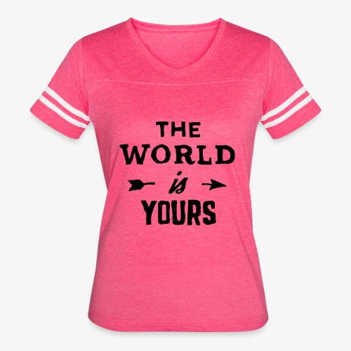 the world - Women's Vintage Sport T-Shirt