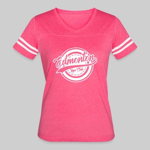 EVC White - Women's Vintage Sport T-Shirt