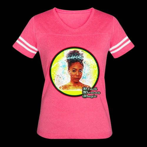 Black Woman Magic - Women's Vintage Sport T-Shirt