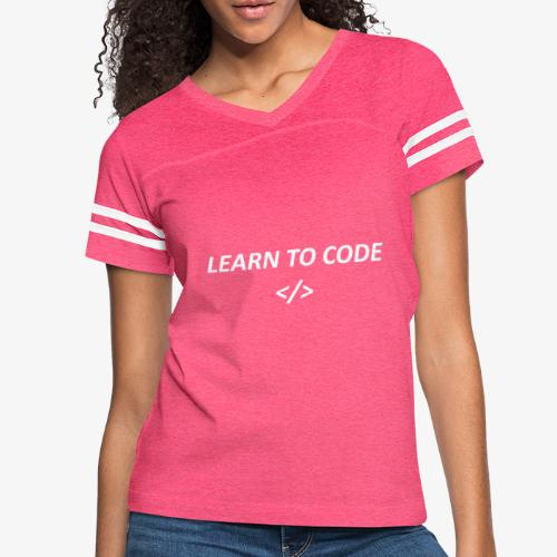 Learn to code - Women's Vintage Sport T-Shirt
