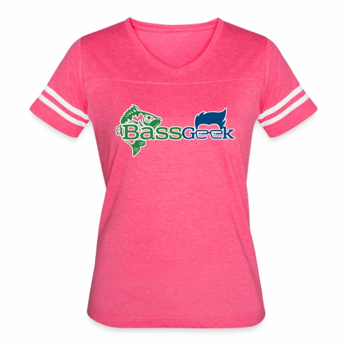BassGeek Logo - Women's Vintage Sport T-Shirt