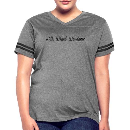 5th Wheel Wanderer - Women's Vintage Sports T-Shirt
