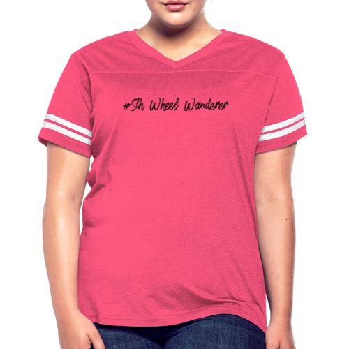 5th Wheel Wanderer - Women's Vintage Sport T-Shirt