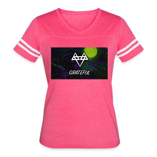 Forever GRATEFUL - Women's Vintage Sport T-Shirt