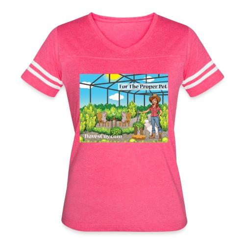 Guinea Pig Aviary - Women's Vintage Sport T-Shirt