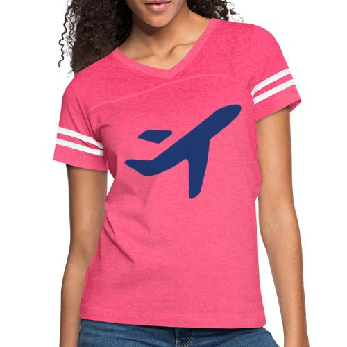 Plane Solo Jess Travel - Women's Vintage Sports T-Shirt