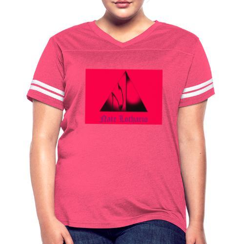 Pink Logo - Women's Vintage Sport T-Shirt