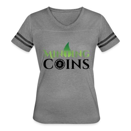 Minting Coins - Women's Vintage Sport T-Shirt