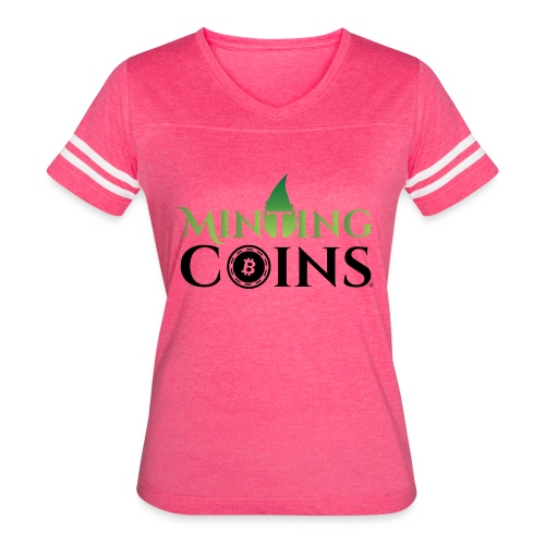 Minting Coins - Women's Vintage Sport T-Shirt