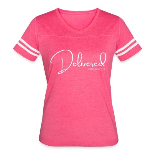 Delivered - Women's Vintage Sport T-Shirt