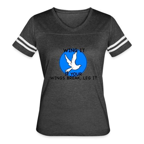 Wing it - Women's Vintage Sports T-Shirt