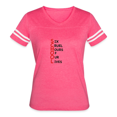 School - Women's Vintage Sports T-Shirt