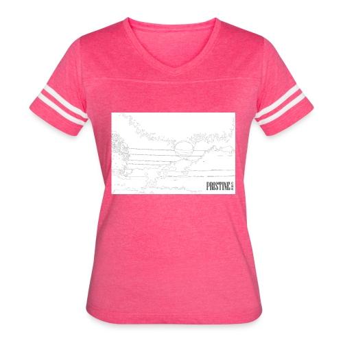 SunLines - Women's Vintage Sport T-Shirt