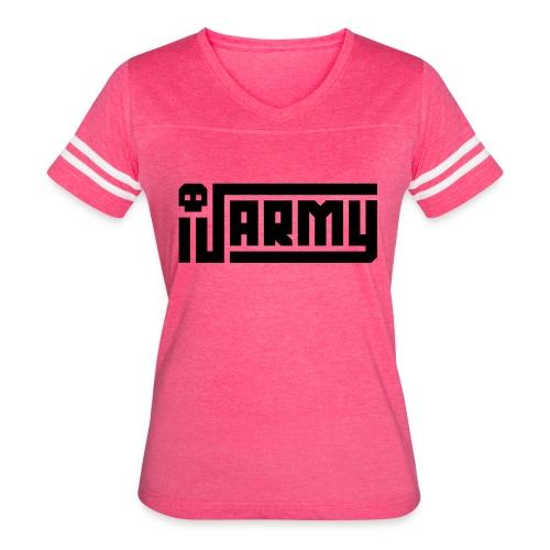 iJustine - iJ Army Logo - Women's Vintage Sport T-Shirt
