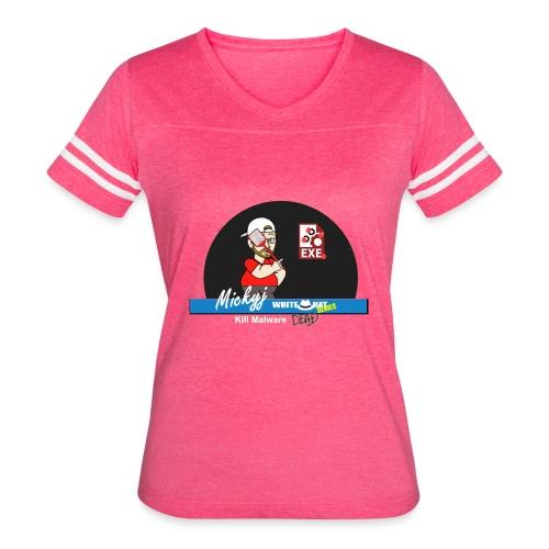 Mickyj - Kill malware dead (Red) - Women's Vintage Sport T-Shirt