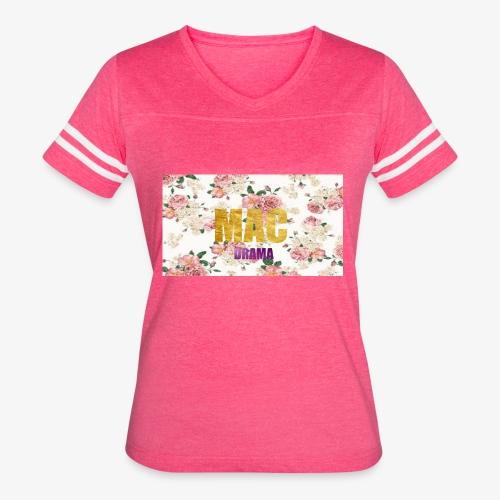 drama - Women's Vintage Sport T-Shirt