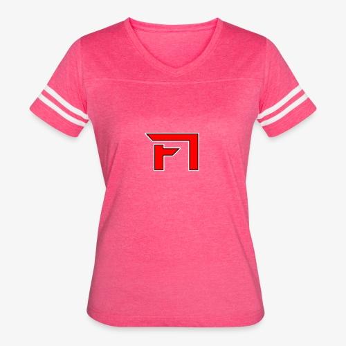 F1 Logo - Women's Vintage Sport T-Shirt