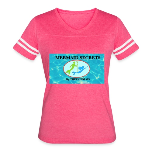 Mermaid Secrets By Theekholms - Women's Vintage Sport T-Shirt