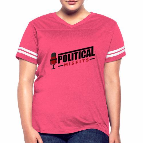 Political Misfits Basic - Women's Vintage Sport T-Shirt