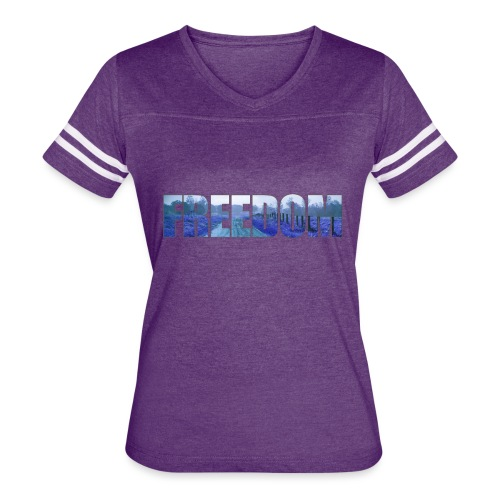 Freedom Photography Style - Women's Vintage Sport T-Shirt
