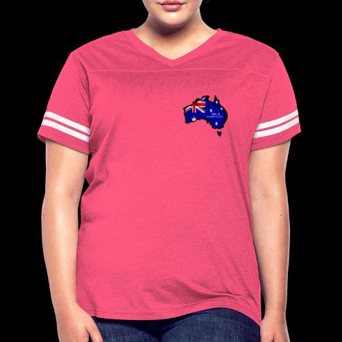 AUSSIE LIVIN - Women's Vintage Sport T-Shirt
