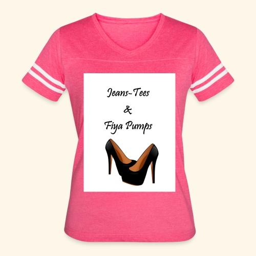 Jeans - Women's Vintage Sport T-Shirt
